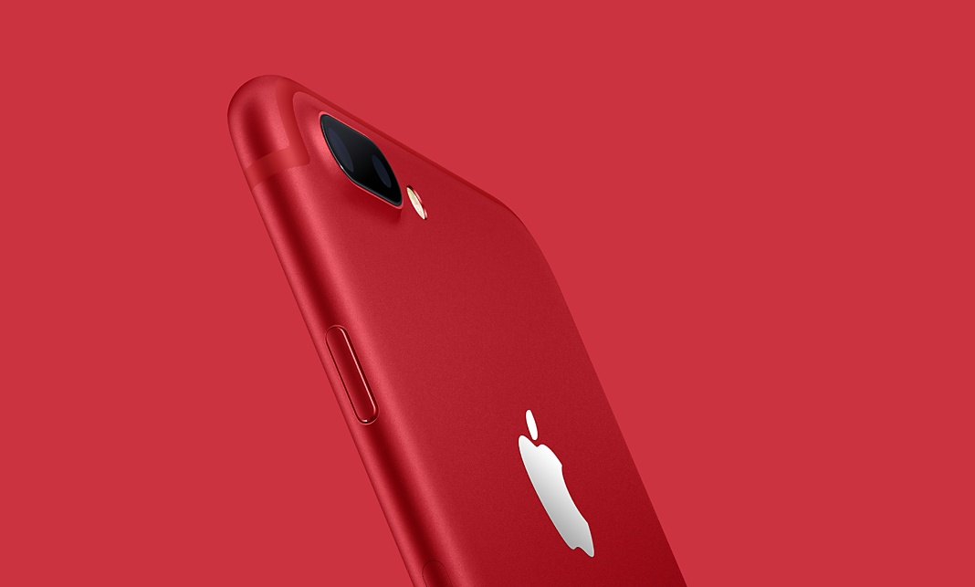 iPhone7RED画像