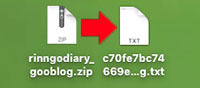 キャプチャーダウンロードファイル