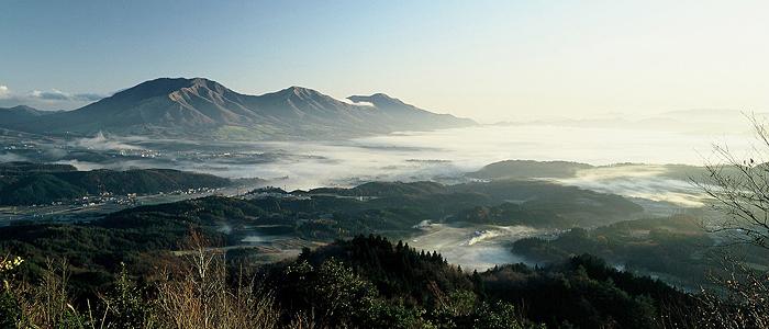 写真、蒜山高原